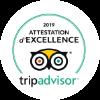 Attestation d'excellence - Tripadvisor