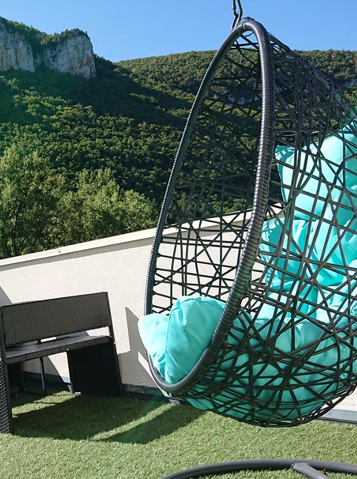 Ecolodge bulles gite piscine jacuzzi gorges du tarn